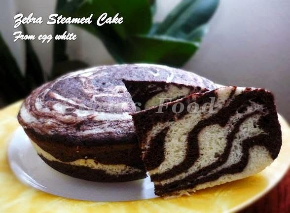 Citra's Home Diary: Steamed Zebra Cake from Egg White