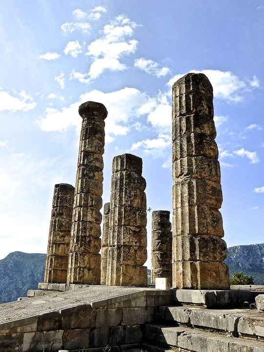 Delphi -  one of the most significant archaeological sites of all antiquity- considered by the ancient Greeks to be the navel of the earth.