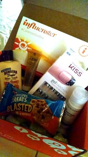 #RiceKrispiesTreats #contest Thanks for my #CalienteVoxBox Influenster. All free for testing purposes.