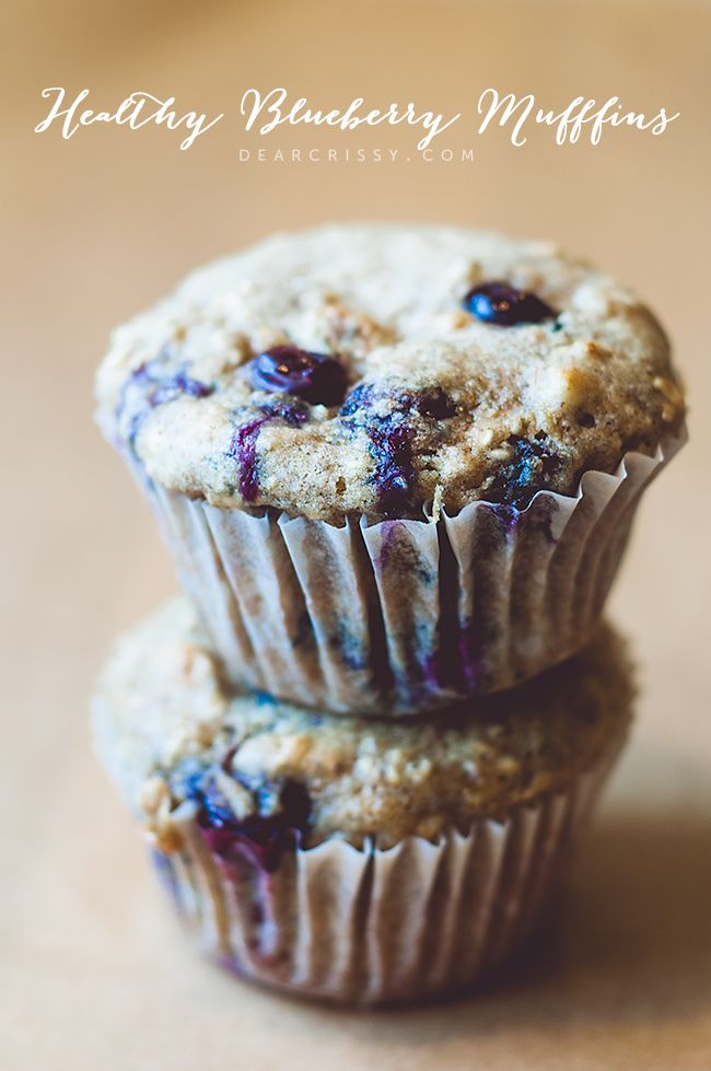 Healthy Blueberry Muffins Recipe - These super moist and delicious blue berry muffins are a real delight, and better for you!