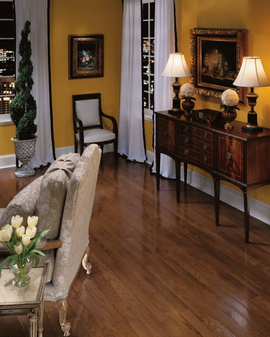 Hardwood Flooring: Oak - Saddle bruce for whole first floor and master bedroom