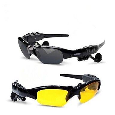 óculos de sol Bluetooth v4.0 fone (enviar lente de visão noturna) – EUR € 23.99