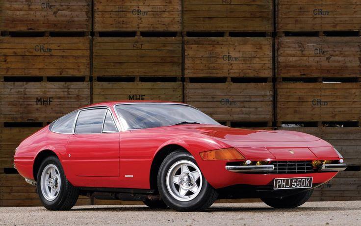 Fioravanti Design Ferrari Daytona 365 GTB/4 #Fioravanti #Car #Ferrari #Daytona #GTClassic @GTClassic