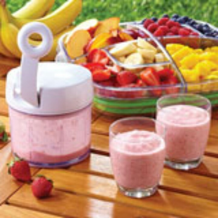 Pampered Chef Manual Food Processor Smoothie Recipe