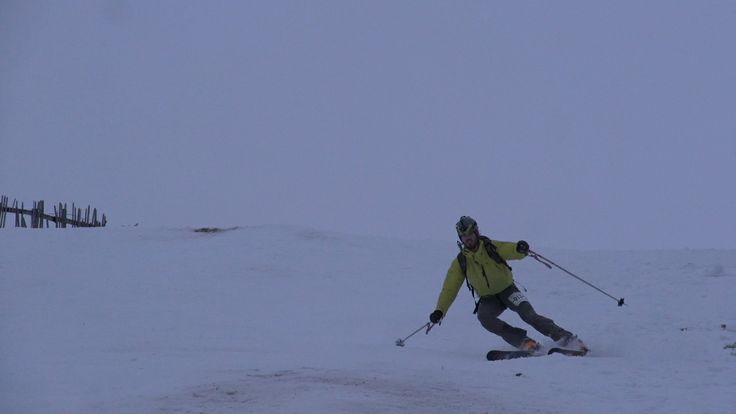 Frame grab from the first round of the Skimo race series held at the Lecht Ski Centre www.morroccomedia.com