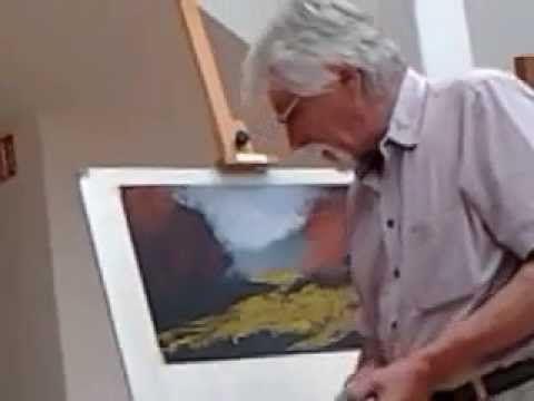 Pósa Ede festőművész előadása a pasztellfestésről 4 rész