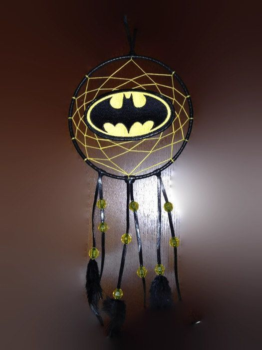 Custom Batman Dream Catcher