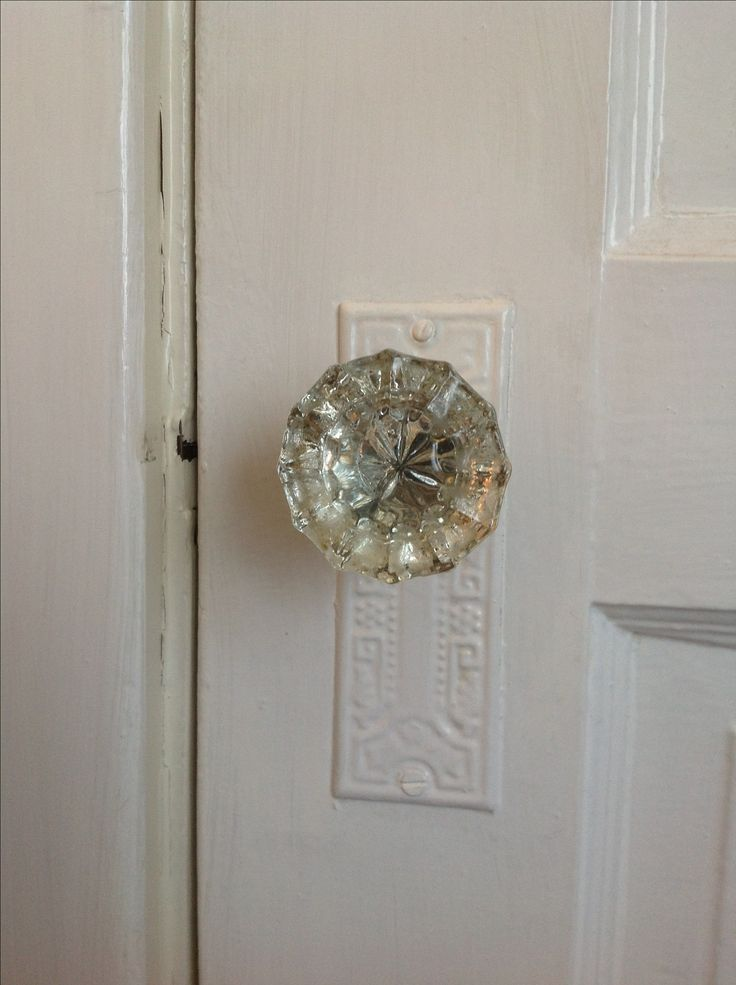 crystal glass door knob old farm house details we had these in the