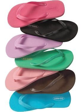 Love these flip flops, cheap and comfy.  Always keep a pair or two in the car.