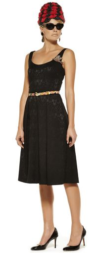 Maiocchi - Queen of Hearts Dress in Black