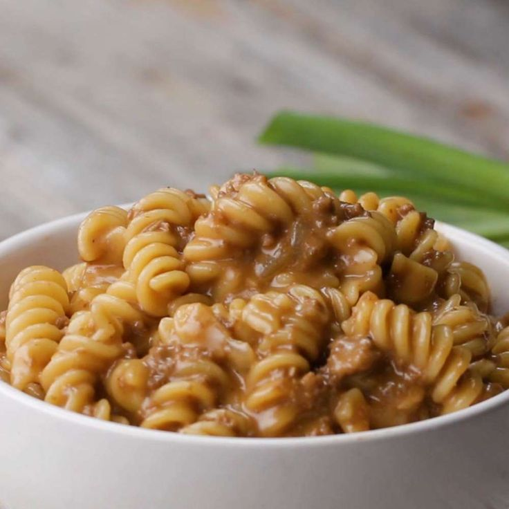 One-pot Cheeseburger Pasta Recipe by Tasty