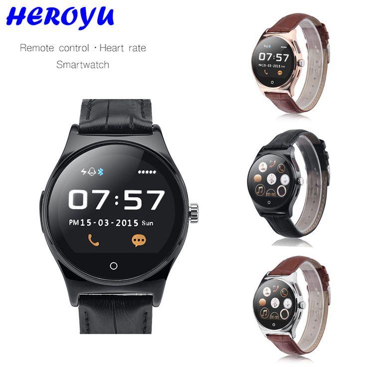 Smart Watch Infrarot-fernbedienung Herzfrequenz Tracker Anrufe/SMS Schlaf Monitor Smartwatch Android Wear vs k88h kw88 no. 1 d5 //Price: $US $46.50 & FREE Shipping //     #smartwatches