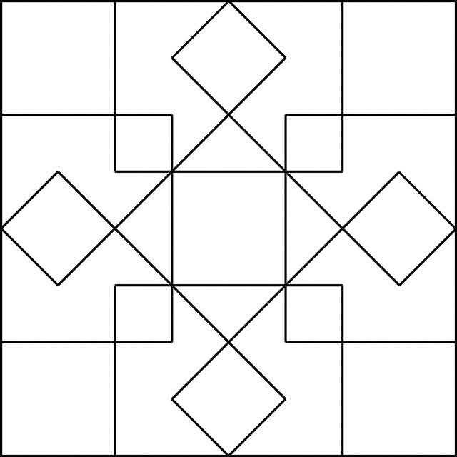 Coloring Pages For Quilt Blocks : 139 best images about coloring sheets patterns printables on pinterest