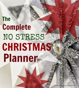 Christmas planner ... keep on top of the Christmas chaos with this sanity saving Christmas planner which breaks everything down into easy week by week chunks