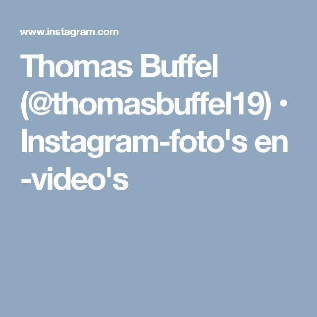 Thomas Buffel (@thomasbuffel19) • Instagram-foto's en -video's