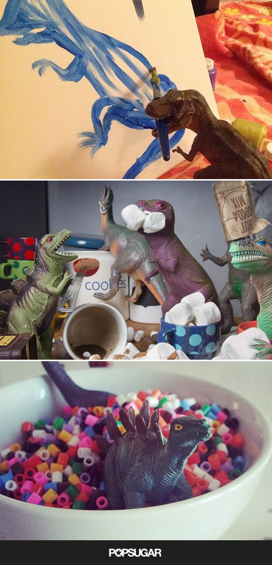Your Kids Will Obsess Over These Creative Dinovember Photos