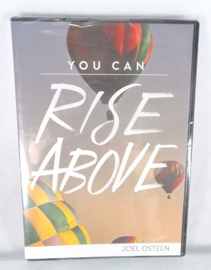 """#Pastor Joel #Osteen #Christian #Ministries """"You Can Rise Above"""" #religious and #spiritual two (2) #audio #CD CD-ROM and one (1) #video #DVD DVD-ROM three (3) piece count #set lot #series with daily #devotional #sermon message, brand new & unused in clear plastic protective sealed shrink-wrap packaging with original clam-shell case and paper cover art insert…"""