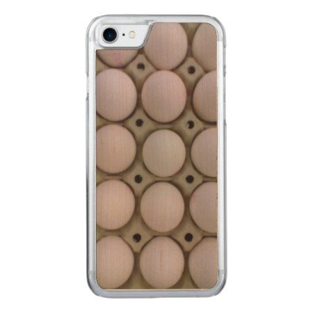 Many Eggs Carved iPhone 7 Case - click/tap to personalize and buy