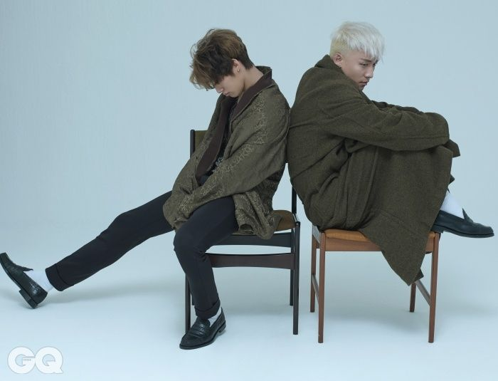 BIGBANG Daesung and Seungri - GQ Magazine August Issue '15: