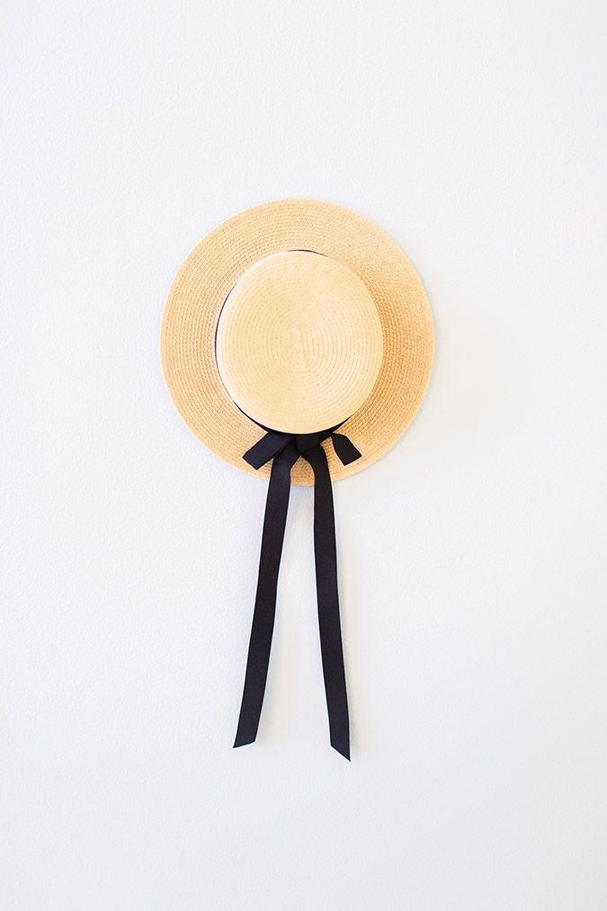 3cb1294a2e623 LC Lauren Conrad Packable Boater Hat