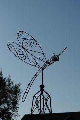 Dragon Fly yard ART