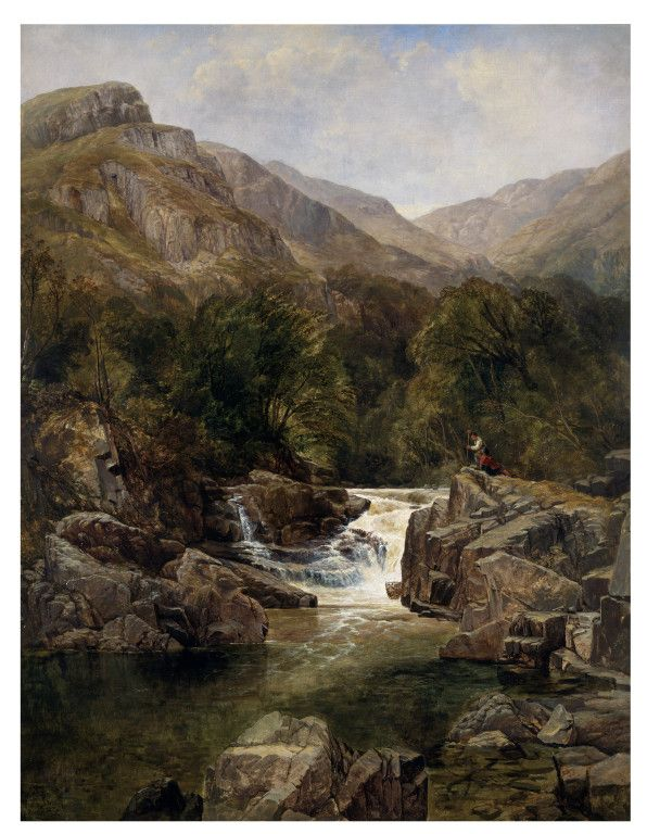 Scene on the Tummel, Perthshire by Thomas Creswick