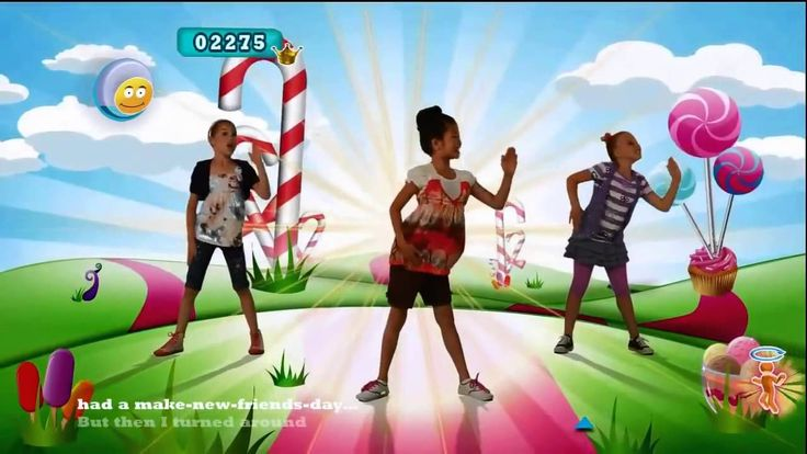 "Just Dance 4 - ""Im Gonna Catch You"" Kids Music Video with Lyrics"