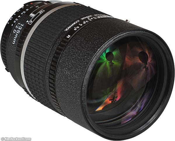 Nikon 135mm f/2 DC  The King of Bokeh (1990-) This one would fit nicely in my new bag as well!