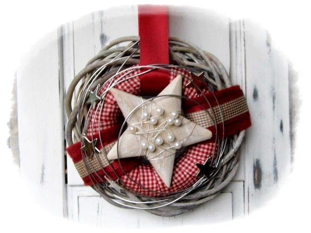 ★★ Türkranz Weihnachten ★★ von Floras creative Art auf DaWanda.com