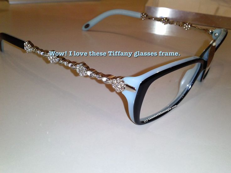 Designer Eyeglass Frames Bling : Love these bling #Tiffany glasses frames Fashions I like ...