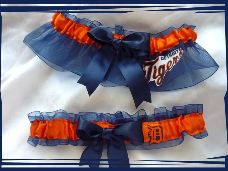Detroit Tigers garter! hint hint @Amanda Skafec