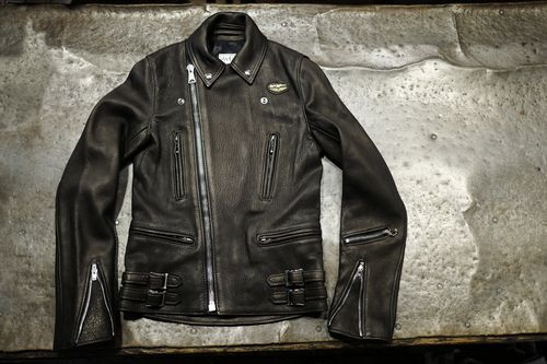 """Lewis Leather × THE REAL McCOY'S """"Lightning"""""""