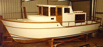 trawler boat plans