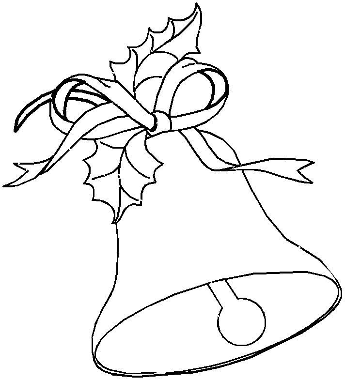 Bells Coloring Pages For Kids Printable Christmas Coloring Pages Christmas Coloring Pages Coloring Pages For Kids