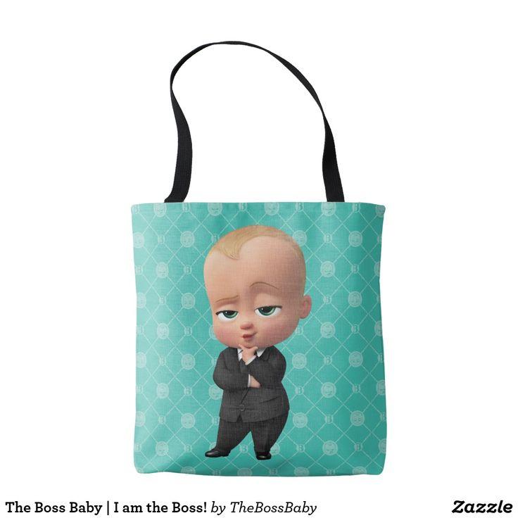 The Boss Baby | I am the Boss! Producto disponible en tienda Zazzle. Accesorios, moda. Product available in Zazzle store. Fashion Accessories. Regalos, Gifts. #bolso #bag