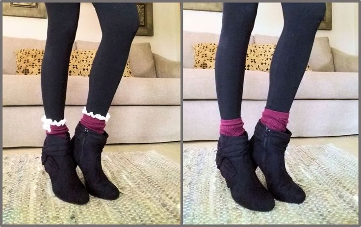 Take your #bootcuffs from day to night by simply turning them the other way around. #accessory #winter