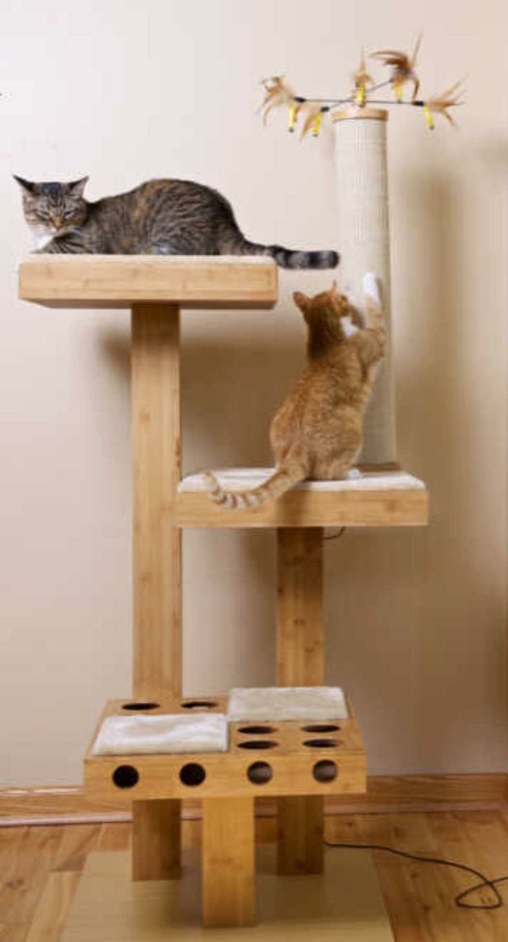 10 best cat play towers images on pinterest cat play. Black Bedroom Furniture Sets. Home Design Ideas