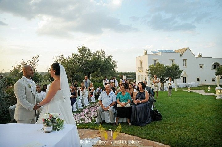 ceremony at the masseria