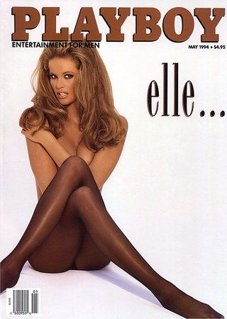 Elle Macpherson was the cover girl for May '94's bare cover.