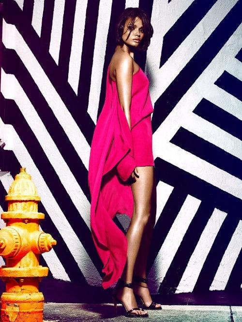 Daniela Braga by Greg Kadel - Plein Sud Spring/Summer 2013...