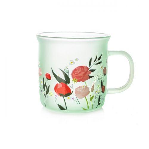 Dewdrop Glass Rustic Mug