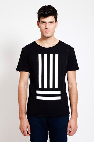 'Earn your stripes' T-SHIRT by DIG ATHENS. Minimalist street style!