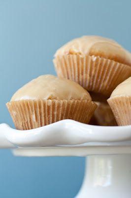 glazed doughnut muffins via my baking addiction