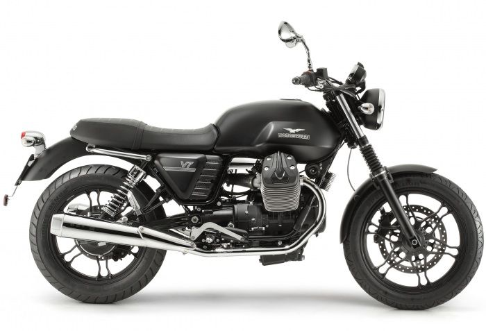 Moto Guzzi V7 Stone now available in Canada!