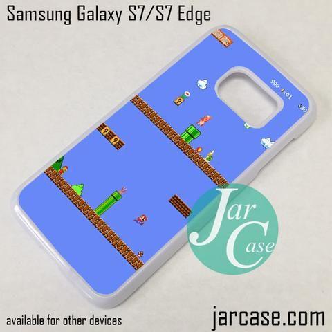 Super Mario Bross Phone Case for Samsung Galaxy S7 & S7 Edge