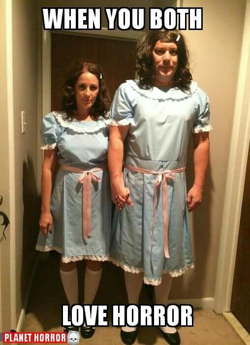 The twins from The Shining                                                                                                                                                                                 More