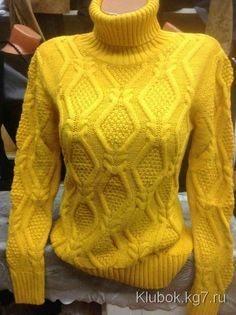 Узор для пуловера | Клубок