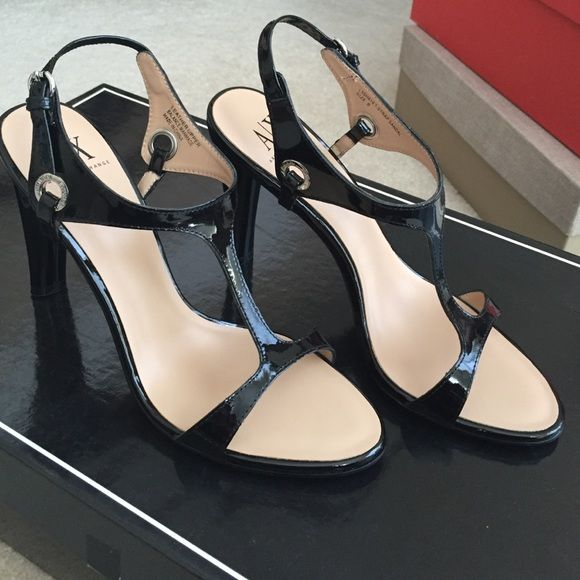 NWT Armani Exchange sandals  The perfect comfort shoe for any event. Black leather. Armani Exchange Shoes Sandals