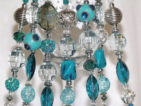 90 best Beaded Ornament Hooks  Dangles images on Pinterest
