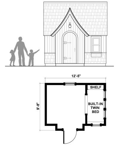 24 best Playhouse plans images on Pinterest Playhouse plans - best of blueprint country house